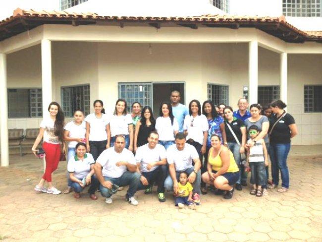 AÇÃO SOCIAL NO ORFANATO FILHAS DE MARIA.