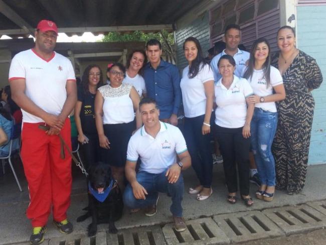 PALESTRA CÃO GUIA ASPAC/CBMDF