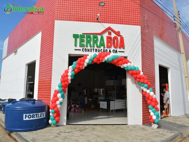 Inauguração das novas instalações da TERRA BOA & CIA em Betânia  do Piauí.