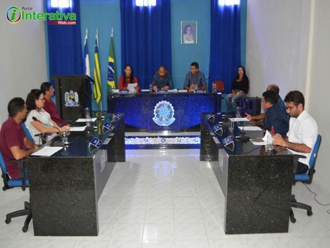Sessão de abertura do ano legislativo na Câmara de Vereadores de Betânia do Piauí