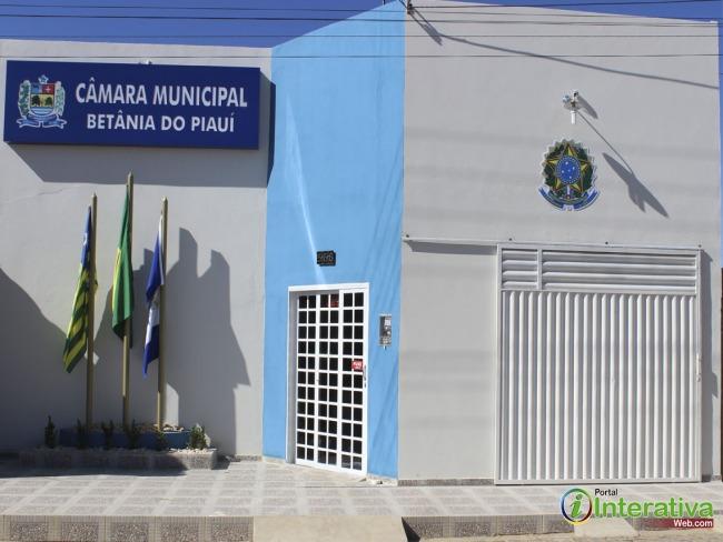 Comunicado da câmara municipal de vereadores de Betânia do Piauí.