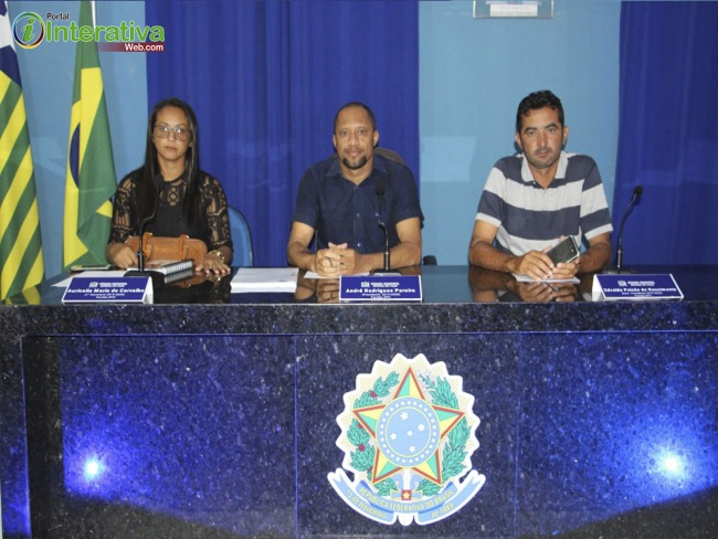 Vereadores reuniram-se na manhã desta terça-feira (23), para sessão ordinária na câmara de vereadores em Betânia do Piauí.