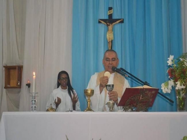 De aniversario Frei Alfredo Santos, Diretor da Rádio Santa Clara