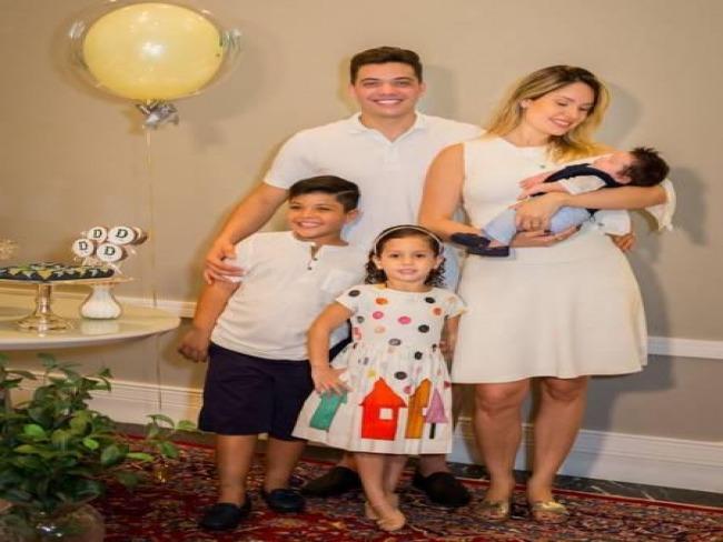 Filhos de Wesley Safadão são internados em Fortaleza-CE