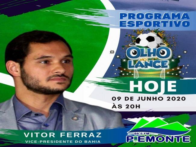 HOJE(09/06) NO PROGRAMA OLHO NO LANCE