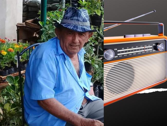 Ex narrador e parceiro da Rádio Liberdade FM morre aos 75 anos