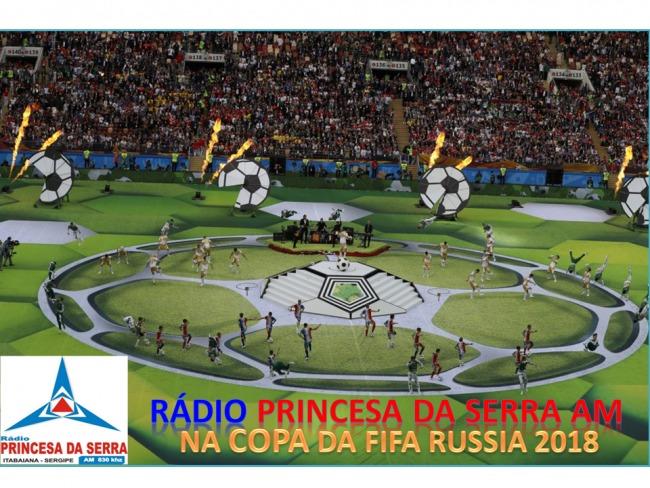 RÁDIO PRINCESA DA SERRA AM 830 KHZ NA COPA DA FIFA RUSSIA 2018