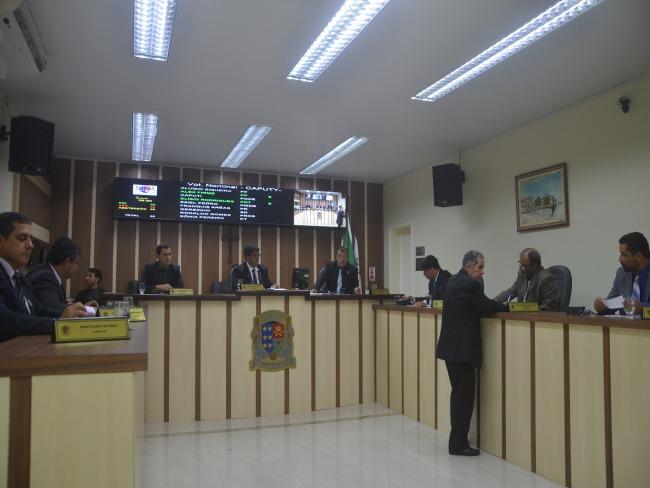 Sessão extraordinária na Câmara de SJB nesta segunda (31)