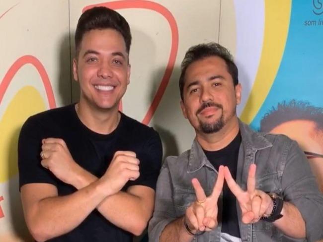 Wesley Safadão e Xand Avião cantam 'Casal raiz' juntos. Veja!