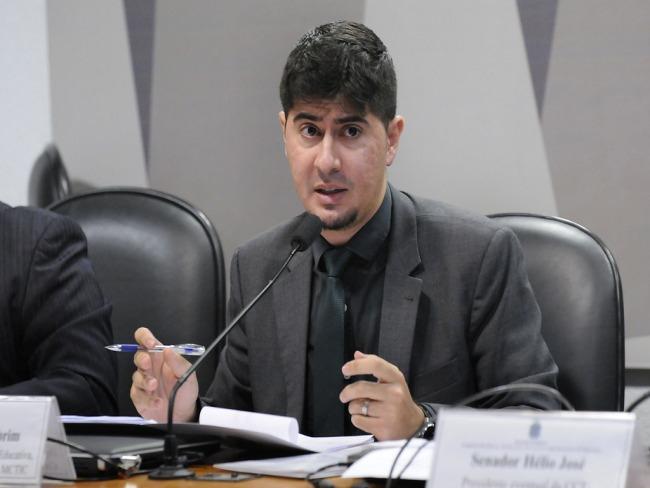 Rodrigo Gebrim e o novo Diretor de Radiodifusão Comunitária, Educativa e Fiscalização