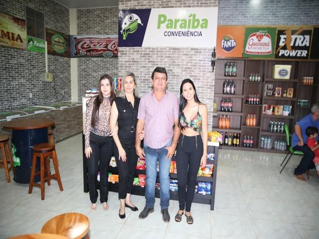 Paraíba Distribuidora e Conveniência é reinaugurada em Tucumã.