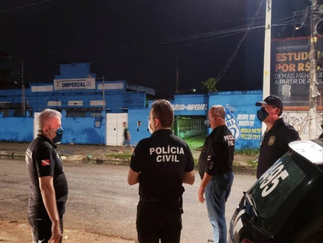 Polícia Civil fiscaliza 55 estabelecimentos em cumprimento a decreto governamental